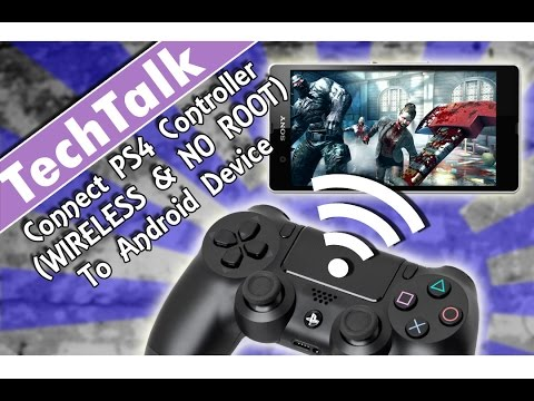 Connect PS4 Controller (WIRELESS & NO ROOT) To Any Android Device