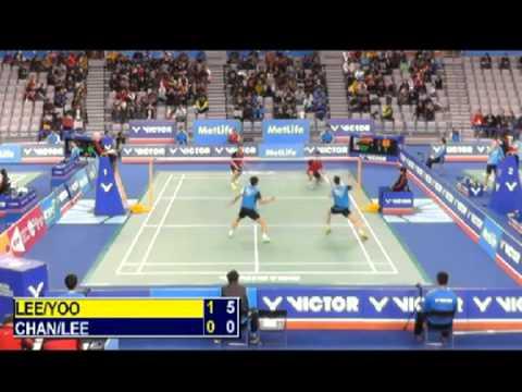 R32 - MD - Lee Y.D. / Yoo Y.S. vs Chan Y.L. / Lee C.H. - 2014 Korea Badminton Open