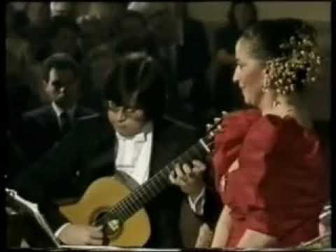 Teresa Berganza - Gabriel Estarellas - Canción
