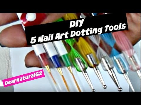 #74 DIY | Make 5 Dotting Tools at Home Music Videos