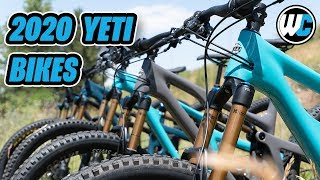 Yeti Cycles 2020 Bike Lineup - The New SB140 & All The Others!