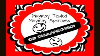 Maymay Tested Maymay Disapproved