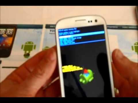 Resetear a modo fabrica el Samsung Galaxy S3 hard reset