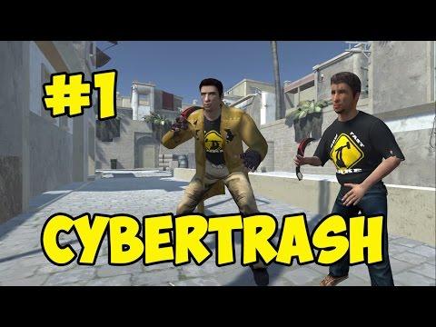 CYBERTRASH - КАК ЗАТАЩИТЬ В  CS:GO (ПИЛОТ)