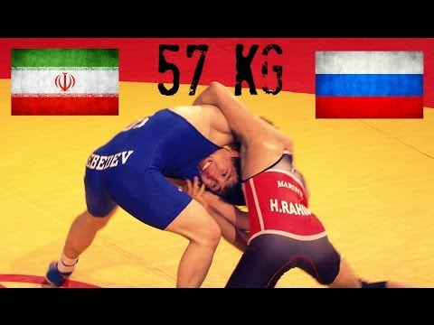1st Place Match - 57Kg - Men's Freestyle Wrestling World Cup 2014 Image 1