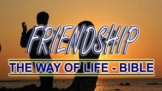 Friendship | The Way of Life - Bible | English Scriptures | HOPE Nireekshana TV