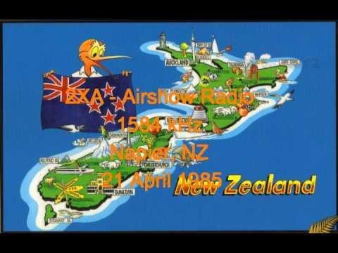 NZ Radio - 2XA - Airshow Radio - 1584 kHz - Napier - 21 April 1985