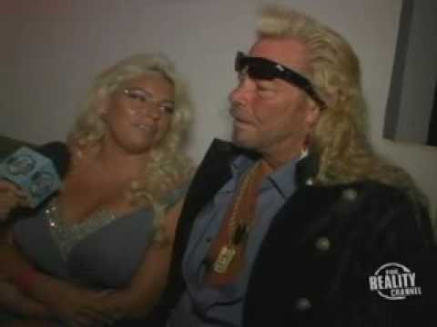 Dog and Beth Chapman - The Fox Reality Channel Really Awards 2008