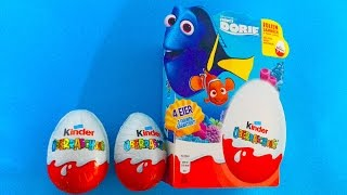 2 Finding Dory Kinder Surprise Eggs