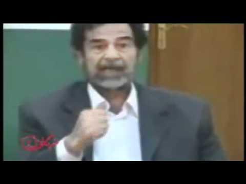 فيديو يعرض للمرة الأولى حول محاكمة صدام حسين في قضية الدجيل