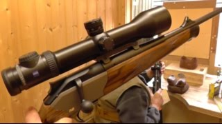 Zeroing a Blaser R8 with Zeiss Victory V8 Super Zoom 2.8-20x56