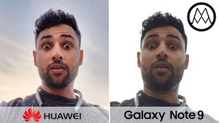 Huawei Mate 20 Pro vs Samsung Galaxy Note 9 Camera Test Comparison!