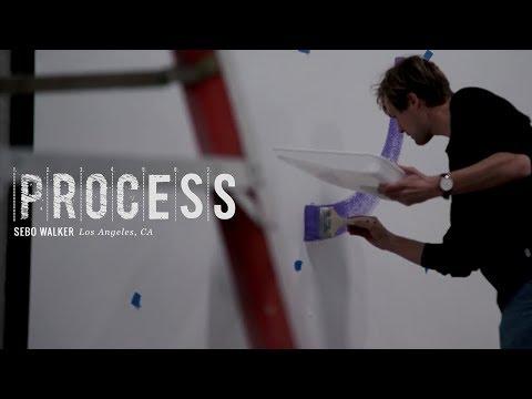 Process: Sebo Walker's Berrics Mural