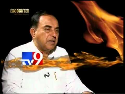 Dr Subramanian Swamy exposing Sonia Gandhi on TV9 (Full)