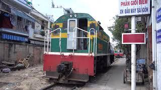 Level crossing 1725KM of Tran Van Dang, Ho Chi Minh City (2016)