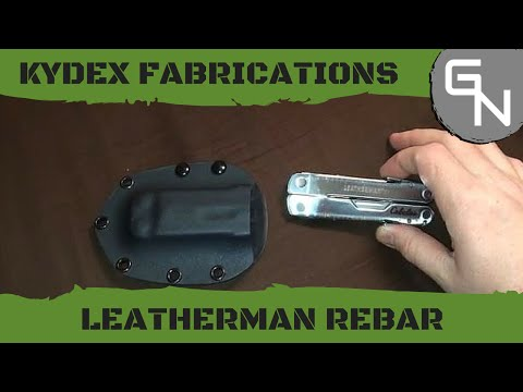 Kydex Sheath for Leatherman Rebar