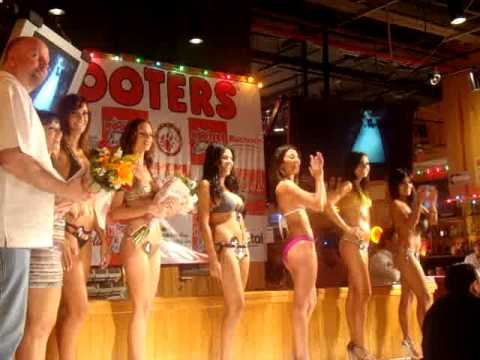 Miss Hooters Cancun 2010 Bikini Contest