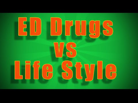 How to Cure Erectile Dysfunction Fast  - Viagra vs Life Style Changes