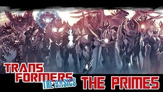 TRANSFORMERS: THE BASICS on THE PRIMES