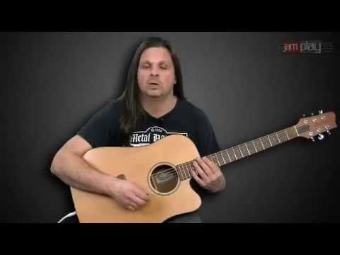How To Play Its Been Awhile  Staind Acustic Corus Mike Mushok