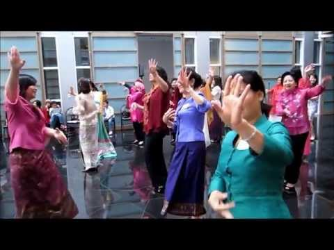 ASEAN Women's Circle Dance at the Embassy of Brunei Darussalam, Washington, DC
