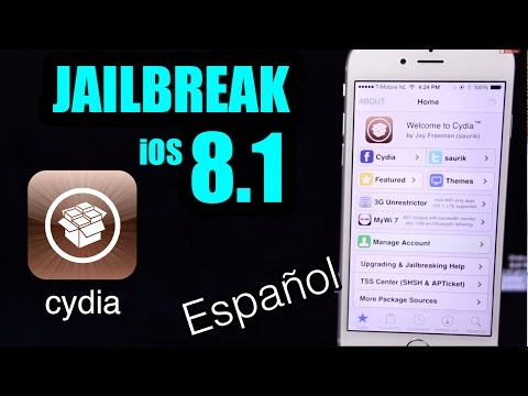 Jailbreak iOS 8.1 - iPhone / iPad / iPod Touch (Cydia para iPhone 5 / 5s / 5c / 6 / 6 Plus)