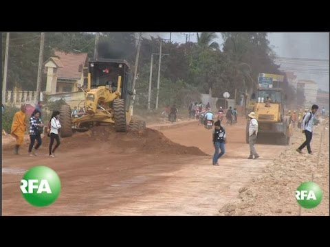 Dust Up Over Cambodian Highway Project