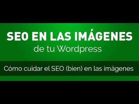 SEO en las imagenes de Wordpress, conceptos básicos