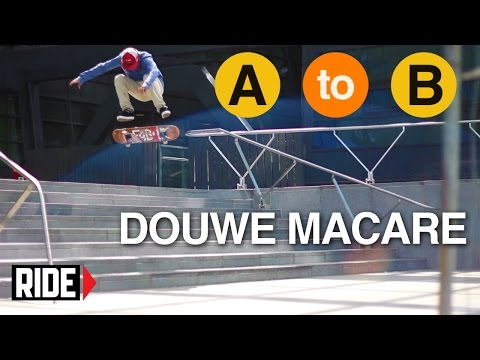 Douwe Macare Skates The Netherlands - A to B