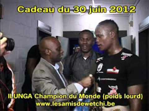 30 juin 2012 Forest National Ilunga champion du Monde