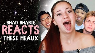"Danielle Bregoli reacts to BHAD BHABIE ""These Heaux"" roasts and reaction vids"