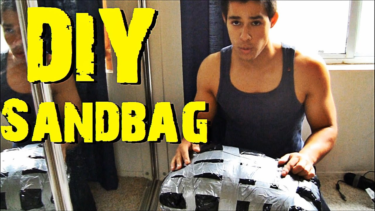 how to make realistic sandbags