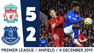 LIVERPOOL 5-2 EVERTON | PREMIER LEAGUE HIGHLIGHTS