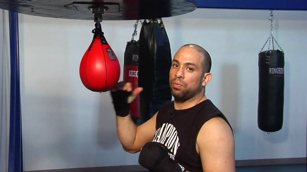 Boxing Skills : How to Hit Speed Bags - YouTube