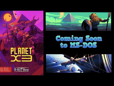 Planet X3 for MS-DOS Update & KIckstarter