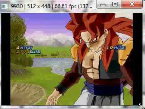 Dragon Ball Z: Infinite World en Pcsx2 1.000 Extremum