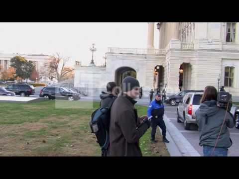 DC: SECY GEITHNER FISCAL CLIFF MEETING DEPARTURE