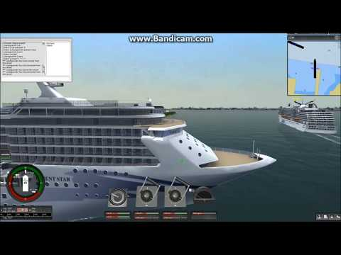 Ship Simulator Extremes Orient Star Cruise New York to Bora Bora (part1)