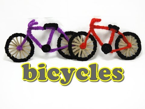 Crafts With Chenille Stems Chenille Stem Craft Bicycle