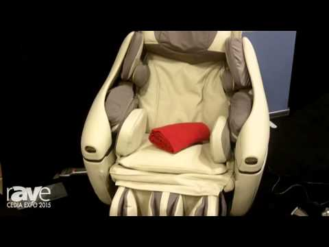 CEDIA 2015: INADA Shows Off Its INADA Massage Chair