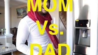 MOM vs DAD (FUNNY PUNJABI VIDEO) Rupan Bal