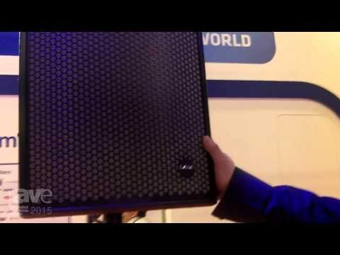 ISE 2015: B&K Braun CK Series CK12/CK15B Speaker System