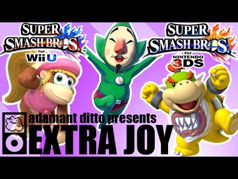 Extra Joy Special - Super Smash Bros. 4 Speculation - Characters - Part 1/4