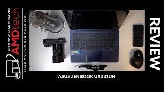 Asus ZenBook 13 (UX331UN) Review:  Core i5-8250U & MX150 GPU