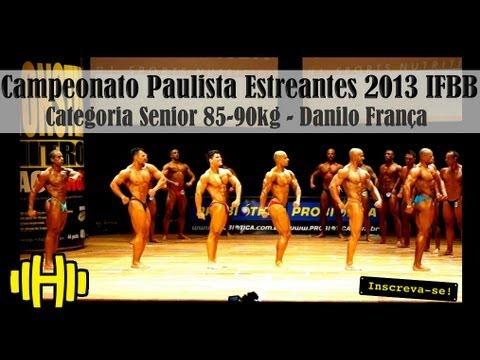 Danilo França em: Campeonato Estreantes Paulista IFBB 2013