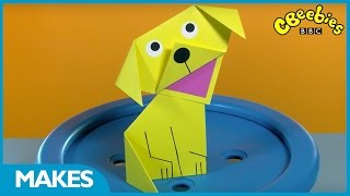 CBeebies Makes | Cute Origami Paper Puppy