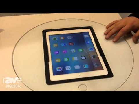 ISE 2016: Viveroo Showcases Tablet Table Dock