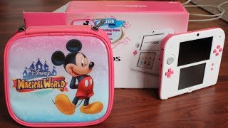 Limited Edition Peach Pink 2DS Unboxing!