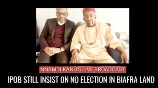 NNAMDI KANU Live Broadcast on 19th Jan 2019 LIVE FROM ISRAEL