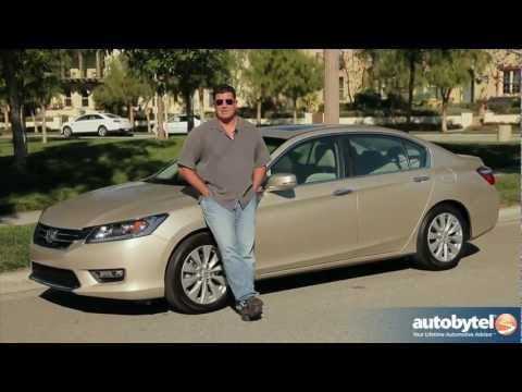 2013 Honda Accord Sedan Test Drive & Car Video Review